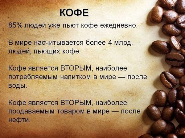 Сколько кофе можно пить в день без вреда для здоровья
