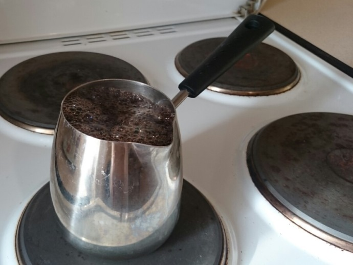 Рецепт кофе с медом