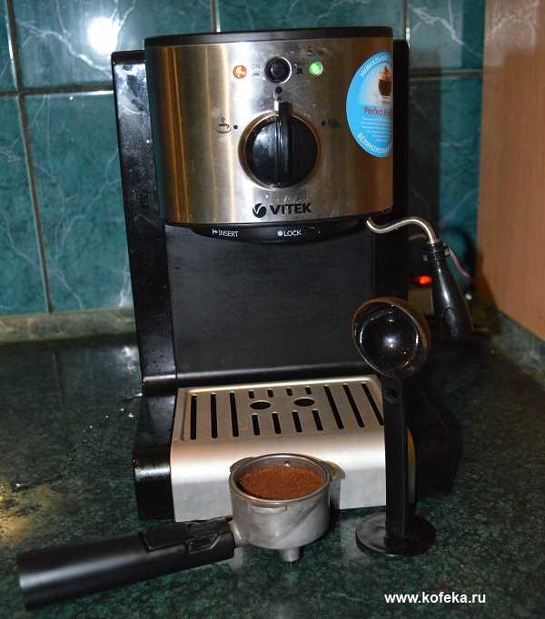 Обзор кофеварки Vitek VT-1513