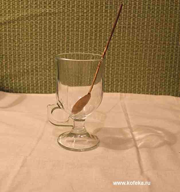 айриш бокал для кофе латте