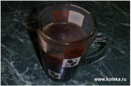 кофе сваренный в турке