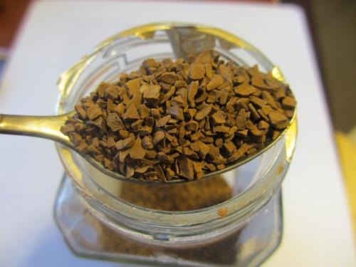 Растворимый сублимированный кофе