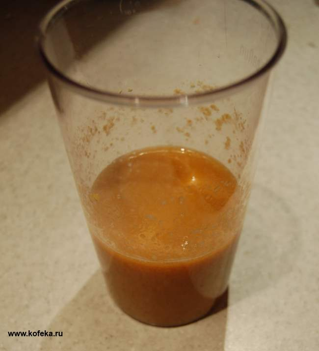 Кофе с персиком