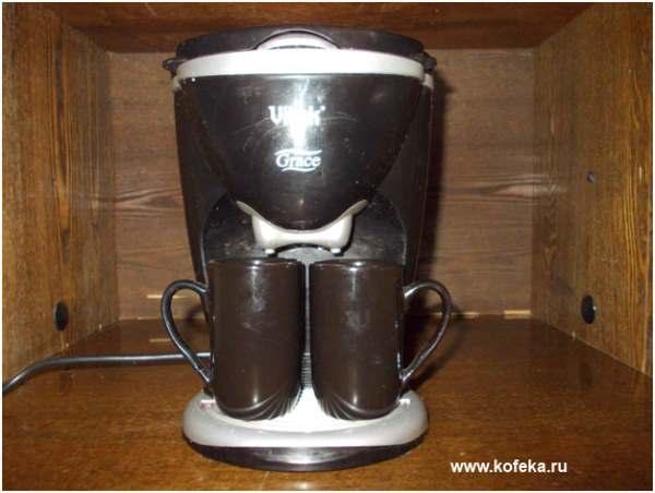 особенности кофеварки Vitek VT-1503