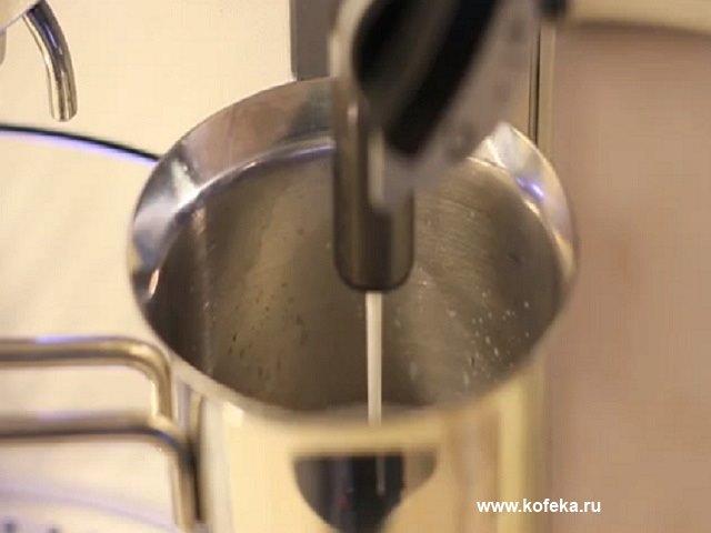 приготовление кофе в jura impressa f50