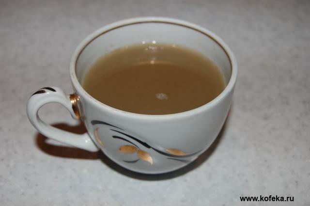 Рецепт зеленого кофе с имбирем