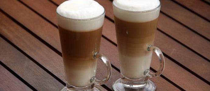 Рецепты  кофе латте