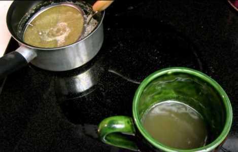 готовый к употреблению зеленый кофе
